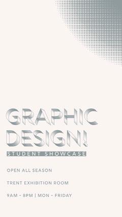 GRAPHIC<BR>DESIGN! Art Exhibition