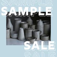 Light Blue Ceramics Store Sample Sale Instagram Square Ad 101 Templates - Starter Pack