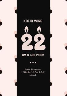 Katja wird  Einladung