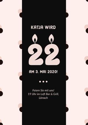 Katja wird  Einladung zur Party