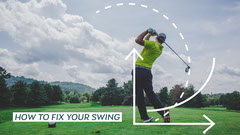 Green How to Fix your Golf Swing Youtube Thumbnail Guide