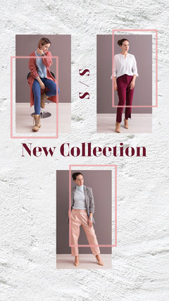 new collection fashion Instagram story New Collection
