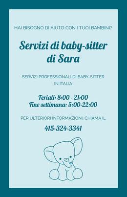 Servizi di baby-sitter <BR>di Sara Volantino