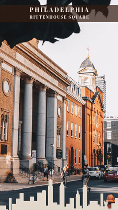Philadelphia Rittenhouse square Snapchat  City