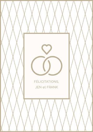 FÉLICITATIONS, Invitation de fiançailles