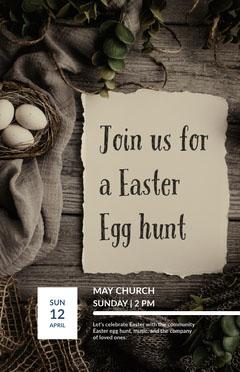 Join us for a Easter Egg hunt Easter