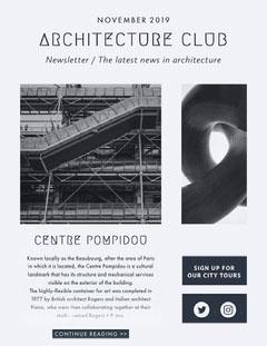 Architecture newsletter Architecture