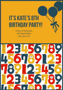 It's Kate's 8th Birthday Party!