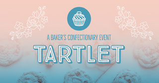Pink and White Tartlet Event Twitter Post Facebook-omslag