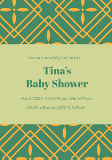 Tina's <BR>Baby Shower