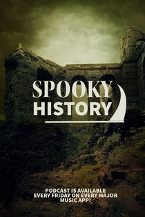 Green Toned Spooky History Podcast Ad Instagram Story Scary