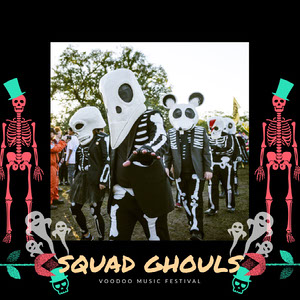 SQUAD GHOULS Music Festival Poster