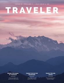 TRAVELER Magazine Cover