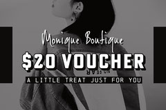 Black and White Fashion Boutique Voucher Deal