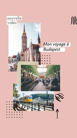 My Trip To Budapest Instagram Story