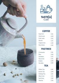 Taste(a) Menu