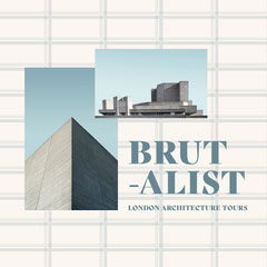brutalist London architecture tours Instagram square  Architecture