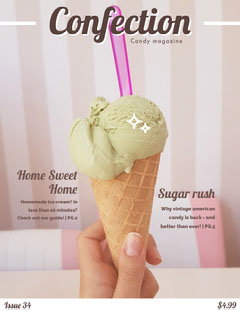 Confection Ice Cream Magazine Cover Ice Creams