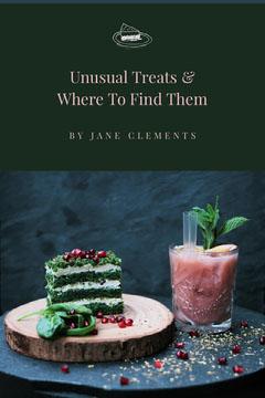 Unusual Treats Cake Book Cover  Cakes