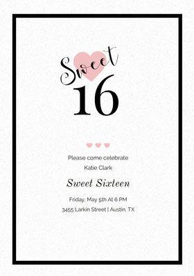 sweet16invitations Birthday Invitation