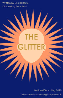 glitter play poster Play Poster