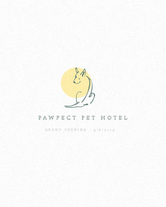 Pet Hotel Instagram Portrait Ad with Dog Hotels