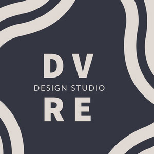 Dark Blue Design Studio Logo Instagram Post YouTube Logo