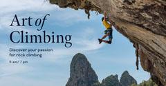 Art of<BR>Climbing  Mountains