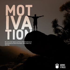 Dark Toned Motivation Quote Instagram Post Affiche de motivation