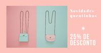 purse sale discount banner ads  Social Media Marketing