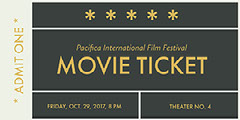 Black, Gold and White Movie Ticked  Festival
