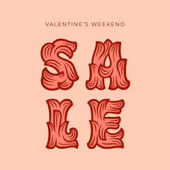 valentines weekend sale instagram square Holiday Sale
