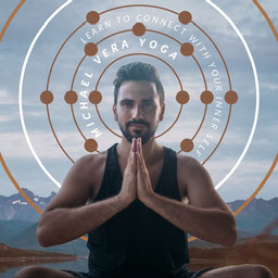 Geometric Orbit Radiating Shapes Yoga Headshot Feature