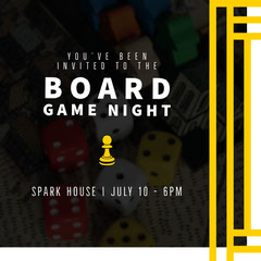BOARD GAME NIGHT Game Night Flyer