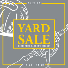 theo-document Yard Sale Flyer