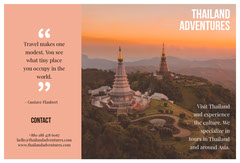 Pink With Thailand View Brochure Vacation