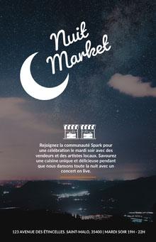 Market Affiche