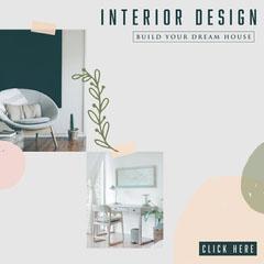 Interior Design Instagram Square Collage Decor