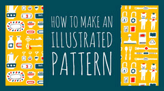 How to make an illustrated pattern Pattern Design