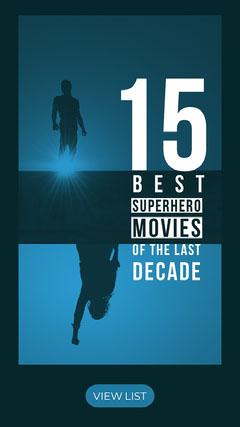 ig story Superhero