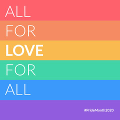 Pride Month Instagram Square Rainbow