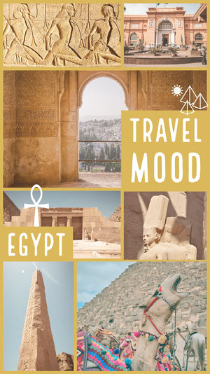 Yellow Travel Mood Instagram Story Photo Book Maker