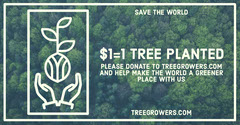 Deforestation Tree Planting Facebook Post with Green Forest Climate Change Posters