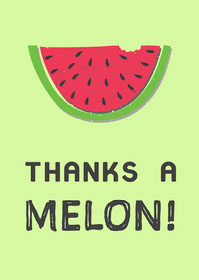 green pink black thank you card  Thank You Messages