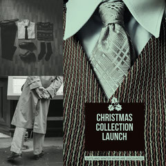 Black and White Christmas Collection Clothing Store Sale Instagram Ad New Collection