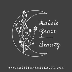 Black and White Moon and Plant Illustration Beauty Salon Instagram Square Ad Beauty Salon