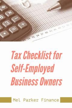 Pink Green Tax Checklist Pinterest Free Finance