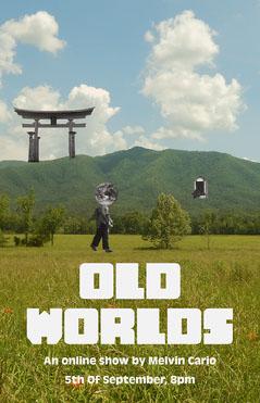 Green Field Online Show Landscape Poster  Art Show