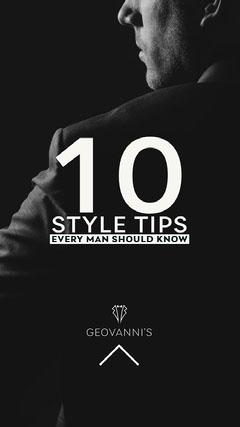 Dark Black and White Back of Man Photo Male Fashion Tips Instagram Story Fashion