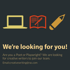 we're hiring writer igsquare  Now Hiring Flyer